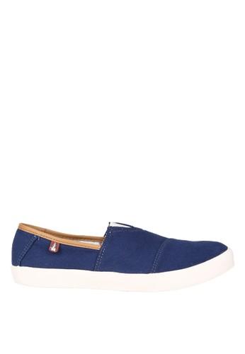 Hush Puppies Sepatu Loafers Casual Pria Shwan - Blue