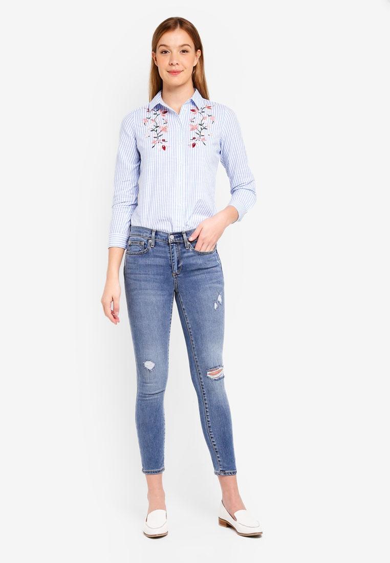 Soft Jeans Repair True GAP Skinny Light n70wRdOq8
