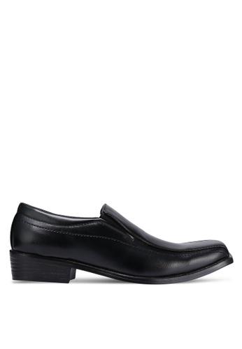 Albertini black Slip On Dress Shoes AL779SH0RJSZMY_1
