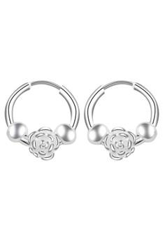 Flower Loop Earring