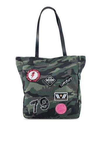 Superdry green Superdry Shopper 53D4FAC650DC21GS_1