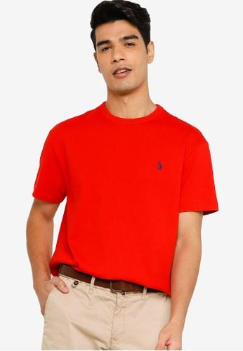 Polo Ralph Lauren red Classic Short Sleeve T-Shirt 031ABAA79EEB09GS_1