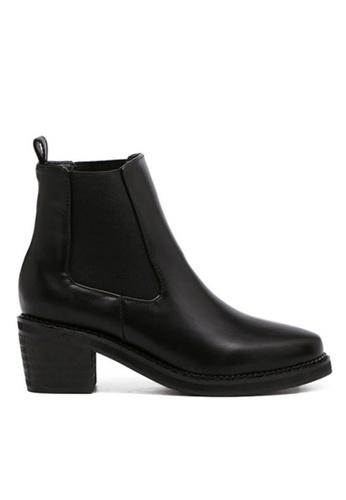 Twenty Eight Shoes 黑色 暗黑的靴子323-1 TW446SH58BQJHK_1