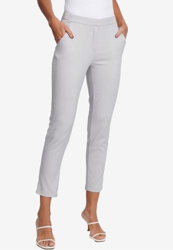 Tussah grey Juno Pants BC9E5AA86A5207GS_1