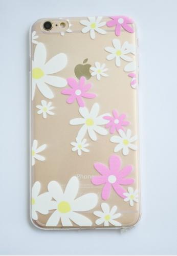 Fancy Cellphone Cases multi Flowers Transparent Soft Case for iPhone  6 plus/ 6s plus FA644AC81DBQPH_1
