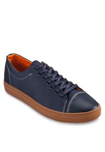 對比色縫紋zalora 內衣拼接休閒鞋, 鞋, 休閒鞋