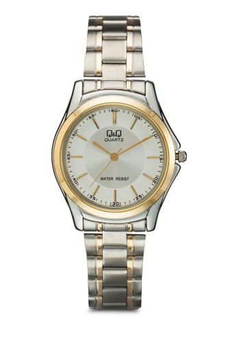 Q207J401Y 圓框不銹鋼鍊錶, 錶類, esprit床組飾品配件