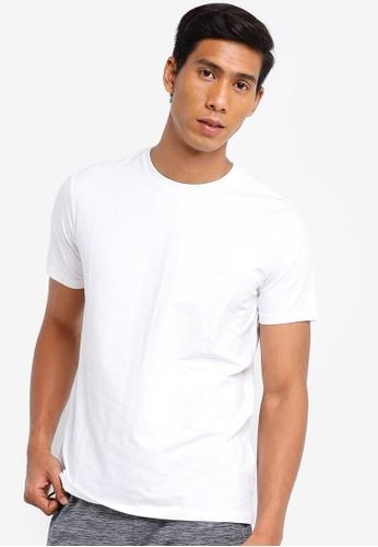 Hummel white Hummel Sigge Short Sleeve T-Shirt 325E7AAECEAE25GS_1