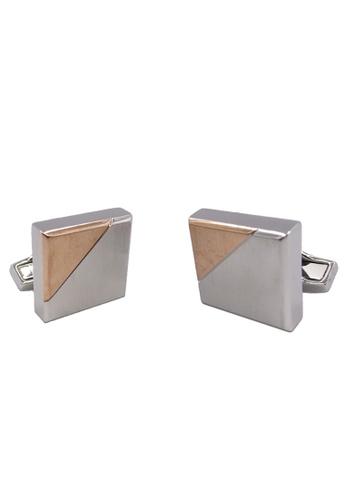 Goldlion silver Goldlion 2-in-1 Cufflinks H 18980AC5C33625GS_1