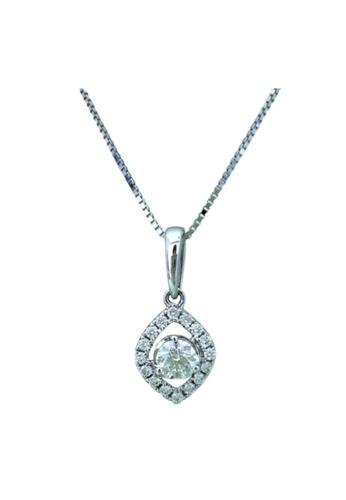 GOLDHEART GOLDHEART Cherie Pendant, White Gold 750 (CHE-P5005) 5FAB7AC12F3181GS_1