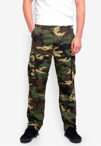 Factorie multi Straight Leg Cargo Pants 08C21AA684190FGS_1