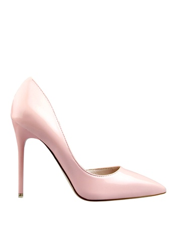 Twenty Eight Shoes pink Unilateral Open Evening and Bridal Shoes VP-6385 88CC0SH702B4B4GS_1