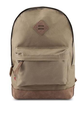River Island brown Essental Backpack D7278ACFECC69BGS_1