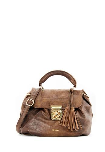 SEMBONIA brown SEMBONIA Synthetic Leather Crossbody Bag 17C16ACB62819DGS_1
