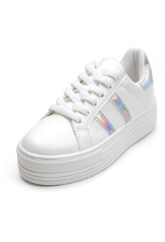 7ff24cc2475 Crystal Korea Fashion Korean New Versatile Platform Casual Shoes HK   380.00. Sizes 230 235 240 245 250