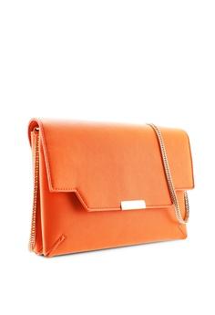 9e0e0be8b91e 15% OFF Dorothy Perkins Orange Double Compartment Clutch Bag HK$ 260.00 NOW  HK$ 220.90 Sizes One Size