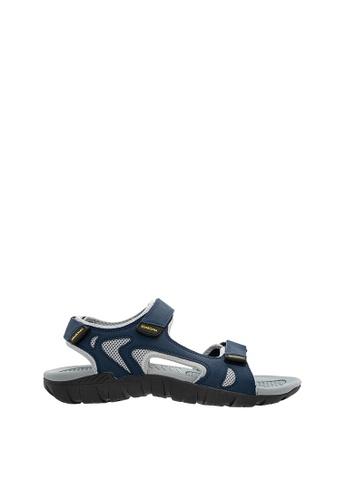 SEMBONIA blue SEMBONIA Men Microfiber Sandal (Blue) 24670SH8EEE222GS_1