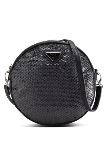 Xti black Sling Bag XT380AC85MNYMY_1