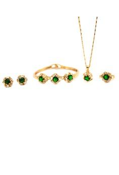 Tiffany 5 in 1 Cubic Zirconia Jewelry Set
