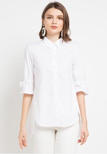 EPRISE white Lana Blouse E2180AA7CA237CGS_1