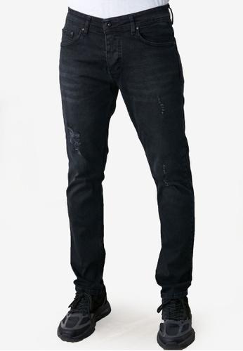 Trendyol black Distressed Skinny Jeans 8B5DDAA9C8C8D6GS_1