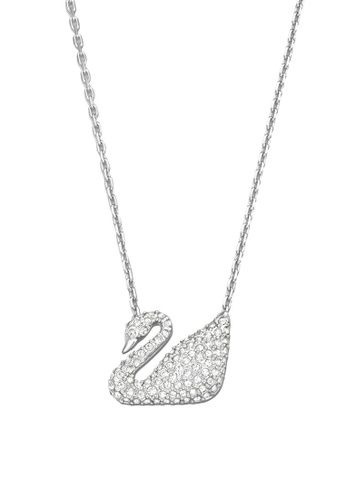Swarovski silver Swan Necklace 92890ACB7964B8GS 1 612df7ee65