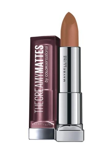 Maybelline brown Maybelline Color Sensational The Creamy Mattes - Nude Embrace E6373BEAE4F6E5GS_1
