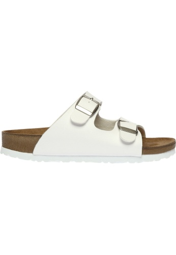 paperplanes white SNRD-216 Casual Summer 2-Belts Slipper Sandals Shoes US Women Size PA355SH86QCNSG_1