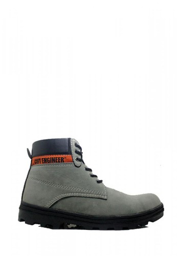 Cut Engineer grey Cut Engineer Safety Boots Iron Suede Leather Gray 6EADDSH3727EA6GS_1