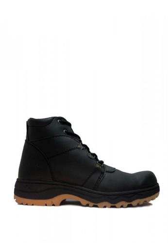 Cut Engineer black Cut Engineer Safety Boots Jordan Steel Leather Black 16E07SHC71AFA5GS_1