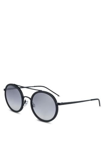 Emporio Armani black Trend EA2041 Sunglasses 152B2GLD6A7C73GS_1