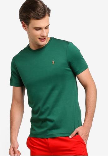 27810767026c30 Polo Ralph Lauren green Short Sleeve Crew Neck Slim T-Shirt  EF136AA3CAFAEEGS_1