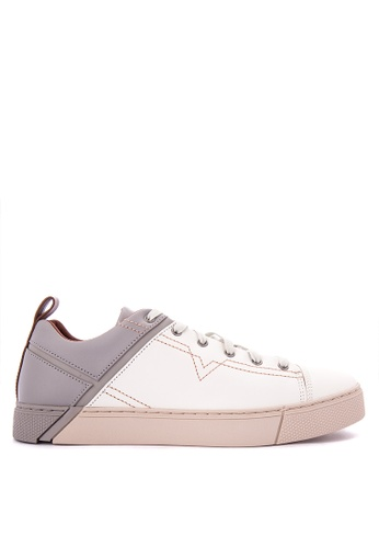 Diesel beige S-Mirage Low Sneakers DI095SH0K3TTPH_1