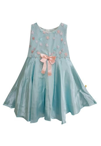 Princessa Flami blue Dress Anak Baby blue 2327 93AD8KAE3AD3F5GS_1