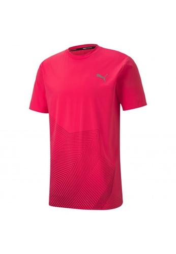 puma pink Last Lap Graphic Men's Running Tee B2100AA7F9E34AGS_1