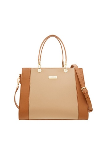 Valentino Creations beige Valentino Creations Karry Handbag 4F1D4AC803C86BGS_1