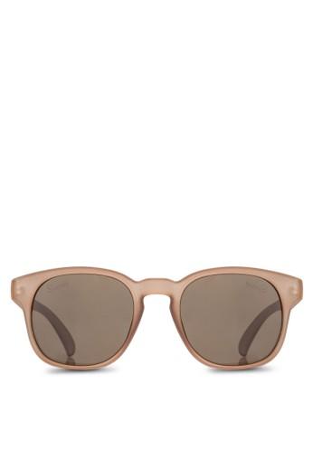 Noah 粗方框太陽眼鏡, 飾品配件,zalora 男鞋 評價 飾品配件