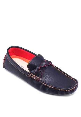 Poesprit門市rtugal 暗紋仿皮船型鞋, 鞋, 鞋