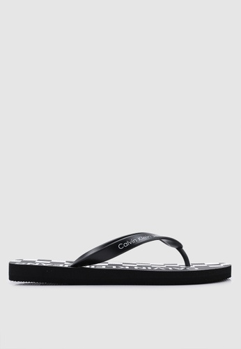 6f8b030991cd Shop Calvin Klein Errol Flip Flops Online on ZALORA Philippines