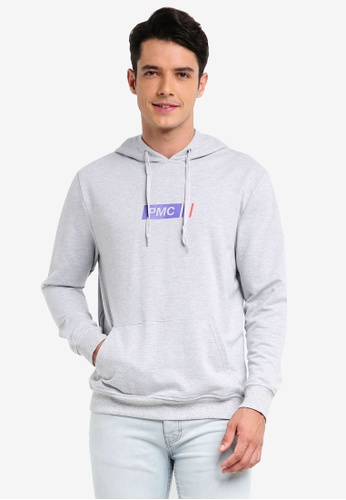 Pestle & Mortar grey GT Pullover Hoodie DAFB7AACE16262GS_1