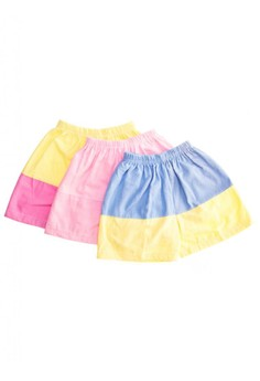 Flannel Shorts Set of 20