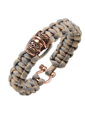 HAPPY FRIDAYS Skull Paracord Bracelet QNW2481 54111AC0961437GS_1
