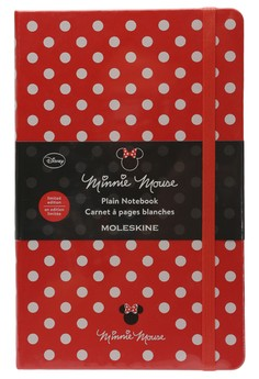 Limited Edition Plain Minnie Mouse Notebook Red Large