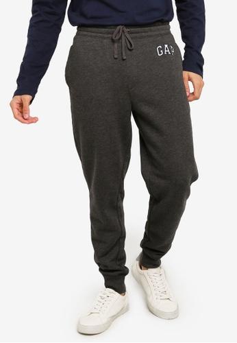 GAP grey Modern Logo Pants 73D20AAF4C2BF6GS_1
