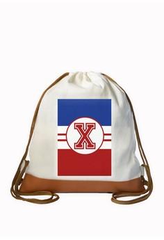 Drawstring Bag Sporty Initial X