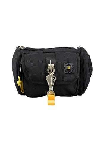 EXTREME black Extreme Nylon waist bag casual chest bag travel adventure hiking fanny pack 0E5D0AC4D8357FGS_1