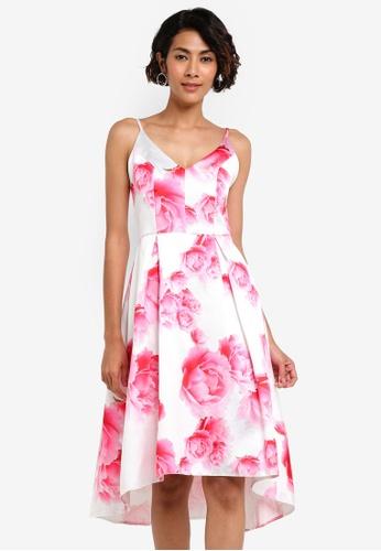 Dorothy Perkins pink Floral Print Cami Dress DO816AA72AZFMY_1