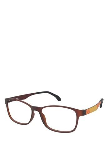 Puma Frame Kacamata Baca 15441 - 53 - Brown - Puma Eyewear 2dc0cbb66c