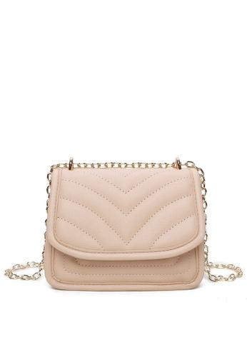 Milliot & Co. beige Winni Shoulder Bag ADAD7ACAB98B1FGS_1