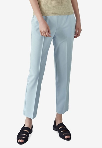 NAIN blue Slim Fit Pants AA95FAA3C6631FGS_1
